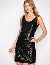 Only Svart onlMEDINO Sl Sequins Dress Wvn