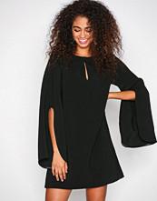 River Island Black Long Sleeve Swing Dress