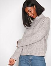 Only Lys brun onlBABYLOU L/S High Neck Pullover K
