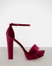 NLY Shoes Berry Platform Heel Sandal