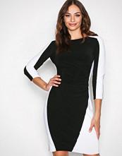 Lauren Ralph Lauren Black/White Treva 2 Tone Dress