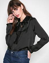 Only Svart onlSILA L/S Ruffle Shirt Wvn