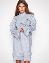 River Island Grey Frill Dress