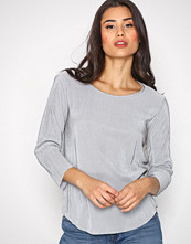 Only Grå onlLIGA 3/4 Sleeve Top Wvn