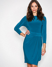 Lauren Ralph Lauren Teal Aletha Dress