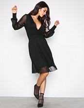 Y.a.s Svart Yasgenie Ls Dress