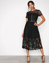 River Island Black Short Sleeve Dress