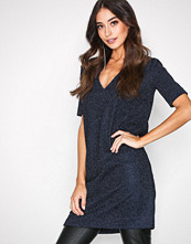 By Malene Birger Blue Velvet Gliitasi Dress