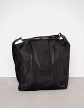 Calvin Klein Svart Fluid Large Shopper