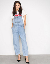 Levi's Blå Baggy overall miss twin p