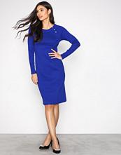 Lauren Ralph Lauren Blue Dramita Casual Dress