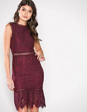 Ax Paris Plum Lace Dress