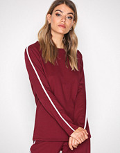 NLY Trend Burgundy Sporty Sweat