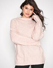 Selected Femme Lys rosa Sfmalia Ls Knit T-Neck
