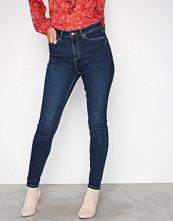 New Look Blue High Waist Skinny Dahlia Jeans