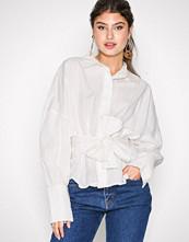 Vero Moda Hvit Vmnate L/S Shirt D2-1