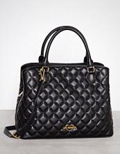 Love Moschino Svart Quiltad handväska