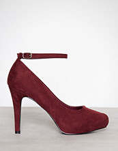 Duffy Bordo Party Heel