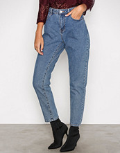 Noisy May Blå Nmtaylor Hw Ankle Jeans 8B