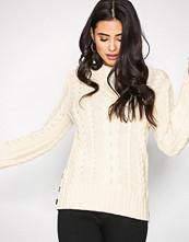 Polo Ralph Lauren Cream Boatneck Long Sleeve Sweater