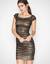 Lauren Ralph Lauren Black Rownes 2-TNE Cap Sleeve