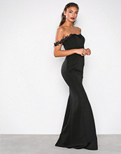 NLY Eve Svart Flirt Me Mermaid Gown