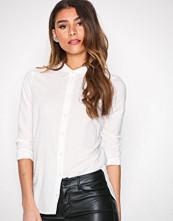 Vero Moda Hvit Vmkate Isabell L/S Long Shirt Noos