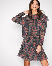 Hunkydory Navy Floral Tie Dress