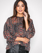 Hunkydory Floral Floral Pleat Blouse