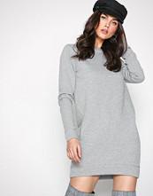 New Look Grey Sweatshirt dress