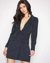 Missguided Navy Blazer Dress