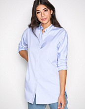 Gant Blue OP2. Pinpoint Oxford Tunic Shirt