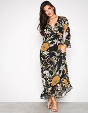 Object Collectors Item Svart Objfabrice Long Dress a NY17 Div