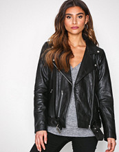 Vero Moda Svart Vmmountain Leather Jacket