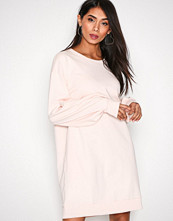 Vila Lys rosa Vilovely Bell Sleeve Short Sweat Dr