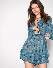 For Love & Lemons Jade Agnes mini dress