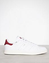 Adidas Originals Hvit/Rød Stan Smith