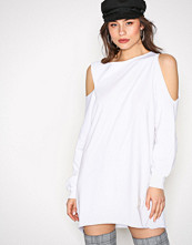 Missguided White LONDUNN Cut Out Dress