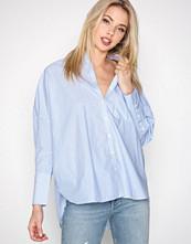Calvin Klein Hvit/Blå Wiva Oversized Shirt