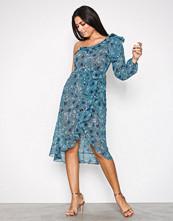 For Love & Lemons Jade Agnes One Shoulder Dress