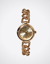 New Look Gold Embellished Dial Chain Strap Watch
