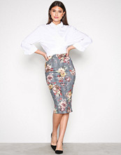 NLY One Ruter Check Pencil Skirt