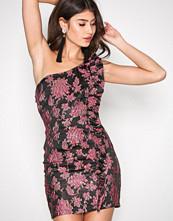 For Love & Lemons Metallic Luella Jaquard Mini Dress