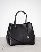 Michael Kors Svart Annie Lg Center Zip Tote