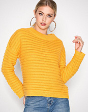 Selected Femme Orange Sfbila Ls Knit O-Neck