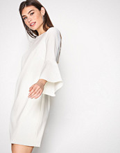 Polo Ralph Lauren Cream 3/4 Sleeve Crew Neck Dress