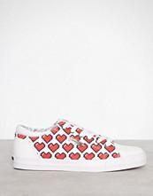 Love Moschino Hvit Sneaker