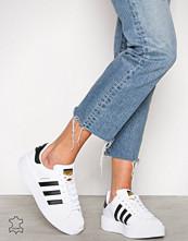 Adidas Originals Hvit/Svart Superstar Bold W