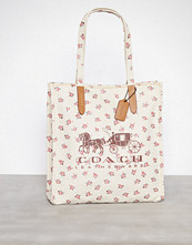 Coach Chalk Horse And Carriage Tote