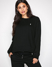 Polo Ralph Lauren Black Crew Neck Fleece Knit